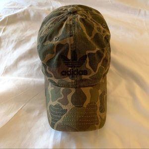 Camouflage Adidas Hat